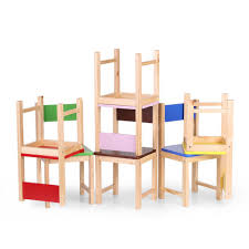 Toddler Wooden Chair Ikayaa Wooden Kids Children Chair Stool Pine Wood Stools Toddler