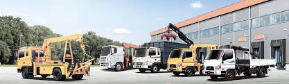 crane truck stiff crane special vehicle hyundai worldwide