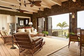 Hawaiian Island Plantation Style Custom Home Lots Of Open Space - Plantation style interior design