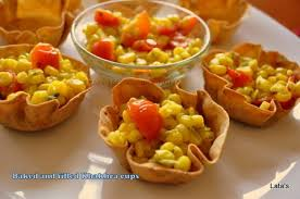 baked canapes flavours and tastes baked and filled khakhra cups