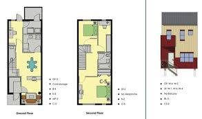 row home plans clever design row house layout plan 12 modern row house plans on