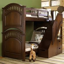 Bunk Bed With Steps Expedition Bunk Bed With Steps Samuel Lawrence Furniture