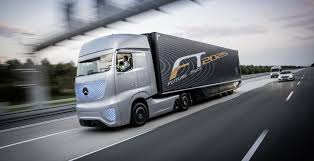 mercedes truck mercedes making a self driving truck to cut down on accidents