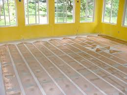 Cabin Floor by Electric Radiant Heating Technology Heatizon Systems