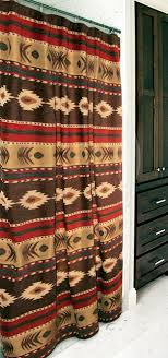 Southwest Shower Curtains Western Shower Curtains Cimarron Southwest Shower Curtain Lone