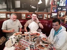 thanksgiving dinner with my guys picture of buca di beppo