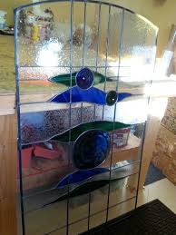 Stained Glass Door Panels by Stained Glass Entry Door Panel Mike Dumas Copper Designs Blog