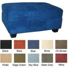 microfiber sectional with ottoman foter