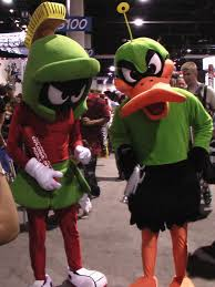 duck halloween mask costume marvin the martian and duck dodgers image follow marvin