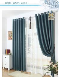 the new high end imitation green linen shade cloth curtains living