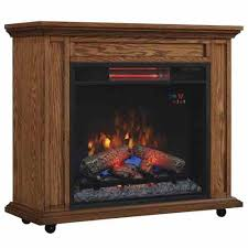 Infrared Electric Fireplace Rolling Infrared Electric Fireplace Heater Mantel Classicflame