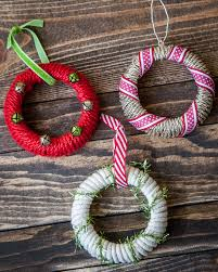 simple and festive jar ornaments in 20 minutes or less