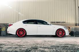 lexus gs 350 f sport white lexus gs350 f sport adv005 m v2 sl concave wheels polished