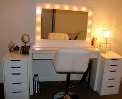 Linon Home Decor Vanity Set With Butterfly Bench Black by Bedroom Vanity Sets With Lighted Mirror Mattress