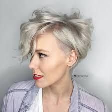 Haarschnitt Kurz by White Hair Kurze Elegante Weisse Frisuren Zu Probieren