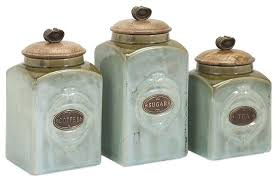 3 kitchen canister set ceramic kitchen canister sets or ceramic canisters set of 3