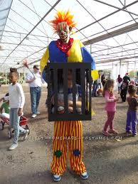 Halloween Illusion Costumes Killer Clown Captures Boy Illusion Costume Halloween Costume