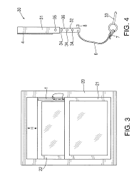 Double Hung Window Locks Ventilation Patent Us8230645 Adjustable Removable Restraining Stop For