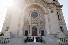 wedding arches target target field wedding photography minneapolis minnesota