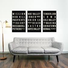 set of 3 prints abstract art gold foil posters living room decor