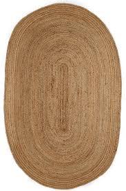 Round Natural Fiber Rug Kerala Natural Jute Rug