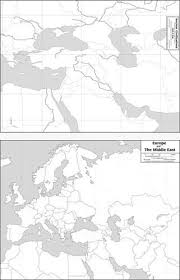 outline map middle east sided outline maps geomatters