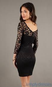 klshort black dresses black dress lace sleeves qldv dresses trend