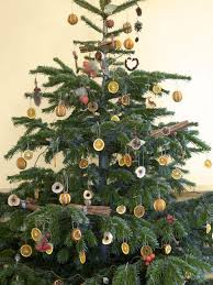 natural christmas tree decorations hgtv