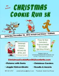 christmas cookie run 2017 at vestal coal house binghamton events