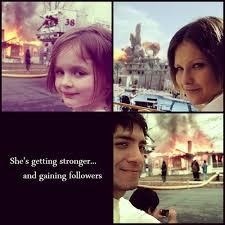 Fire Girl Meme - girl on fire meme via tumblr on we heart it