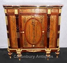 french red boulle sideboard cabinet buhl marquetry server louis