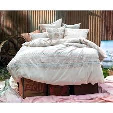 kas alexa blush quilt cover setblush pink duvet nz colored covers