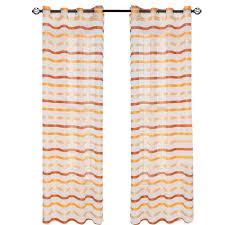 Pottery Barn Ruffle Blackout Panel by Ivory Striped Sahaj Jute Curtains Set Of 2 96 U0027 By World