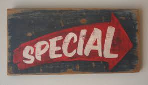 special advertisement hand painted reclaimed wood sign shanty