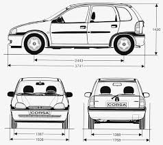 corsa opel 2004 opel corsa 1998 3 5 door smcars net car blueprints forum