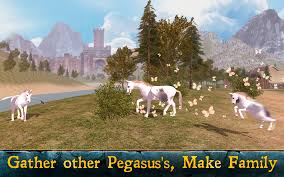 pegasus flying horse simulator android apps on google play
