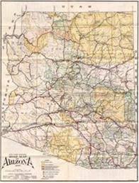 map of az historic highway maps
