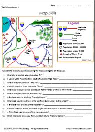 printable map key education world work sheet library map skills education world