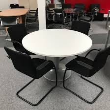 Circular Meeting Table Circular Meeting Table Griffin Office Solutions
