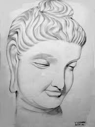 pencil sketch of lord buddha ji god pictures