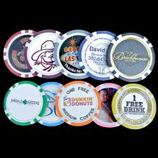 Free Military Business Cards 8 Stripe Custom Poker Chip Business Card