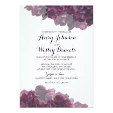 lavender wedding invitations lavender wedding invitations announcements zazzle