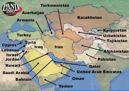 middle east map with countries middle east countries map list satellite imagery availability