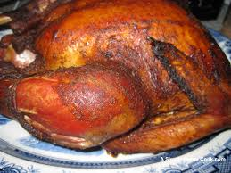 barbecue turkey makes a great gathering