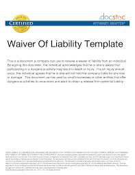 9655803 png waiver of liability sample legal documents pinterest