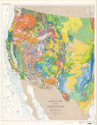 alaska and hawaii on us map geologic map of the united states exclusive of alaska and hawaii