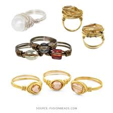 gold wire rings images Free wire wrapping ring tutorials nunn design jpg