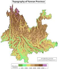 Mekong River Map Maps Wonders Of Yunnan Travel