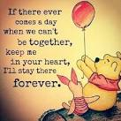 Image result for in heart forever pooh quotes