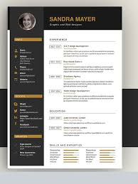 50 awesome resume templates 2016 u2022